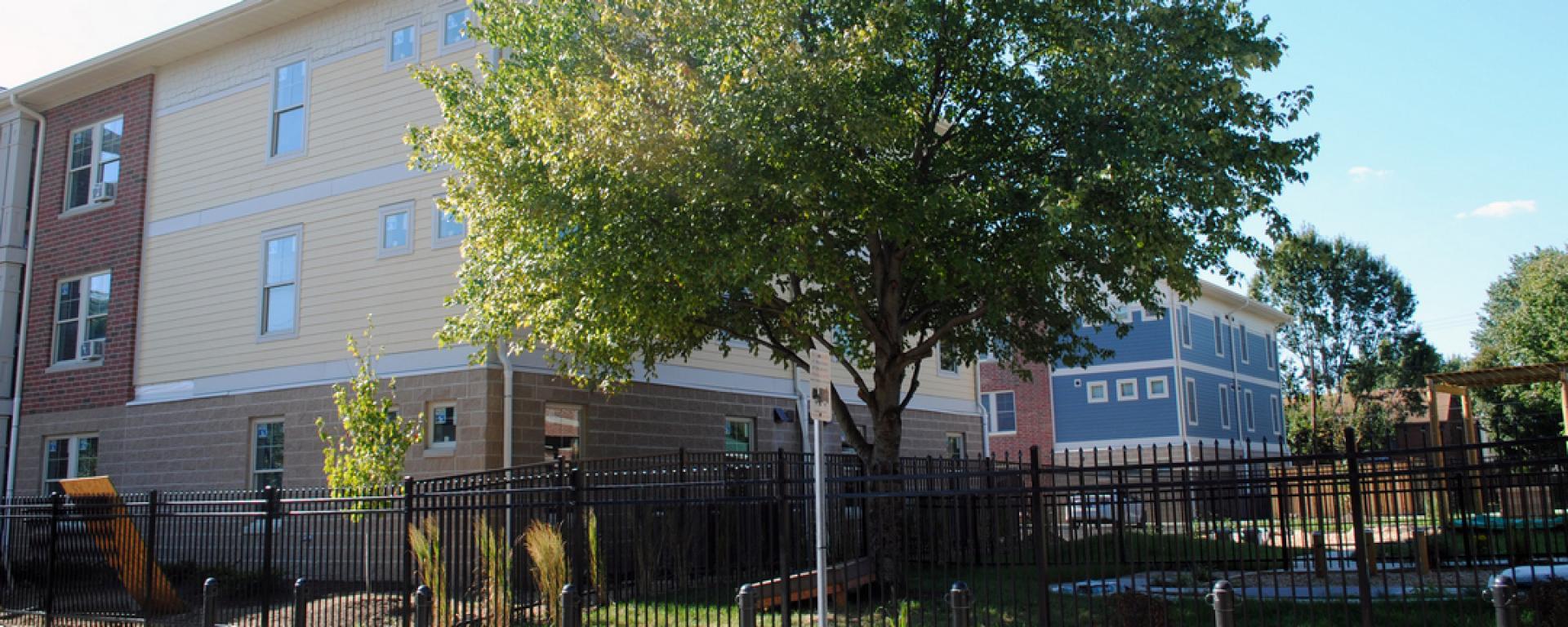 Landscape view of Scholar House