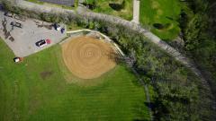 Municipal Park Aerial